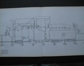 Monorail Train Print Scene