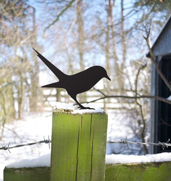 Outdoor Bird Garden Lawn Ornament Early Bird Yard Art Seeks Worm