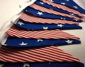 Stars and Stripes Bunting banner - 12 flags, Star Spangled Banner