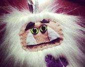 Abominable Yeti or Sasquatch Plush Ornament