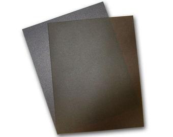 Curious Translucent CHOCOLATE Paper 8.5x11 - 50 pk