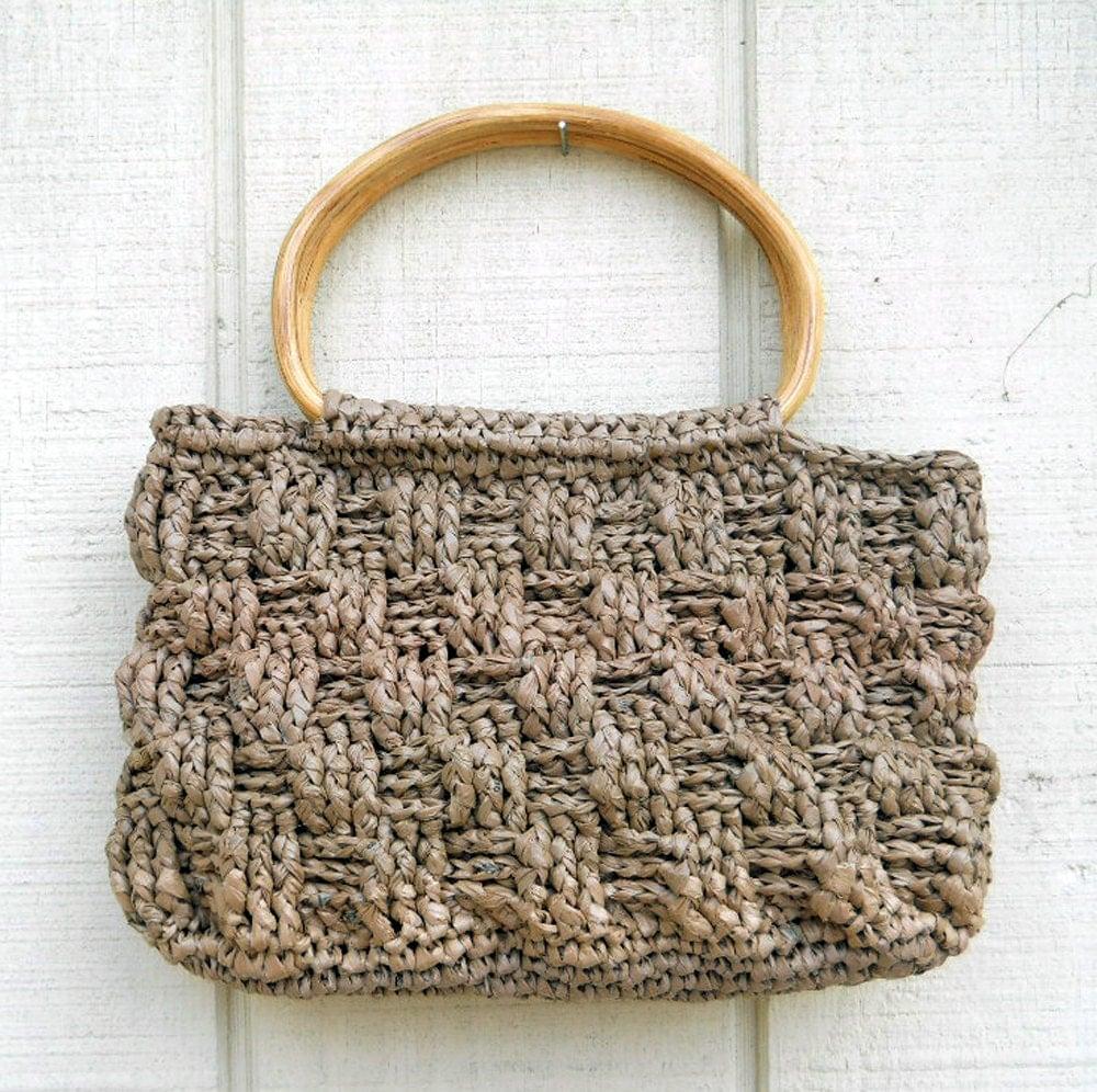 Crochet Grocery Bags : Chandeliers & Pendant Lights