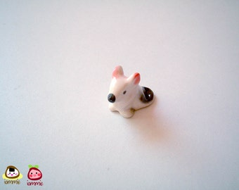 Miniature White Ceramic Mouse, mouse figurine, mouse figure, ceramic animal, tiny animal, small animal, tiny mouse, hamster, mice, rat
