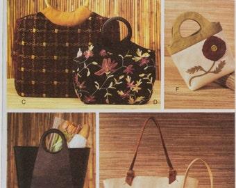 Vogue 7755 Sewing Pattern Handbags, Purses and Totes