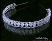 Bridal Headband, Bridal Headpiece, Crystal Bridal Headband, Swarovski Crystal Headband, Ready-To-Go Headband