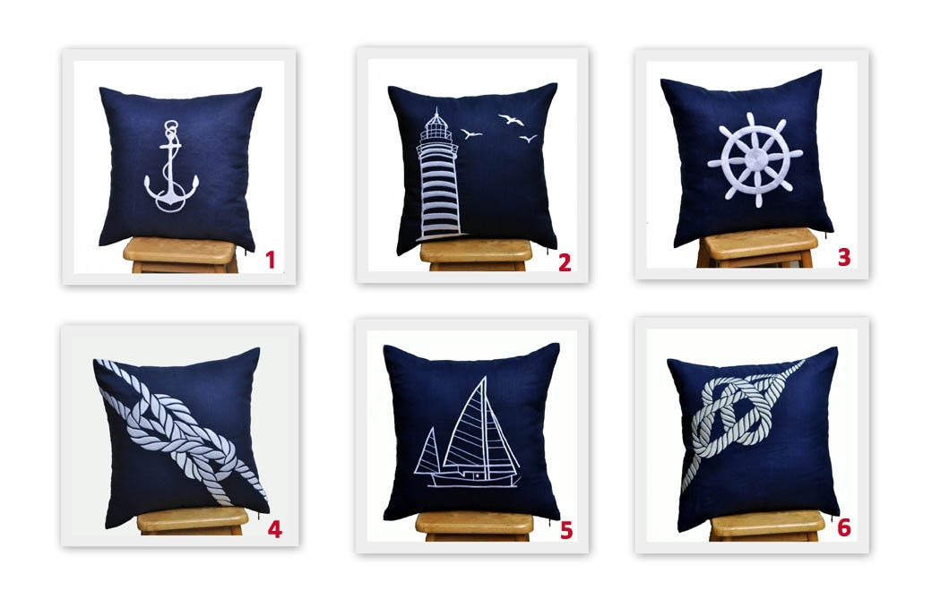 Popular items for sailing pillow on Etsy