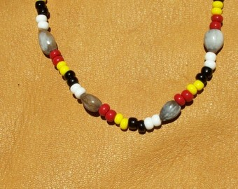 Cherokee Tears necklace- Job's Tears Necklace- Corn Beads- Selu Necklace