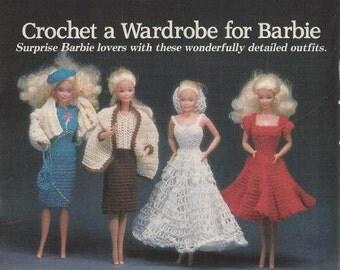 Vintage Crochet Pattern - Barbie Dresses