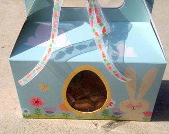 Gourmet Dog Treats - Bunny Hop - Gift Tote Vegetarian All Natural - Shorty's Gourmet Treats