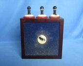 Untitled (Corona Object) - Original Mixed Media Assemblage - Poem Object