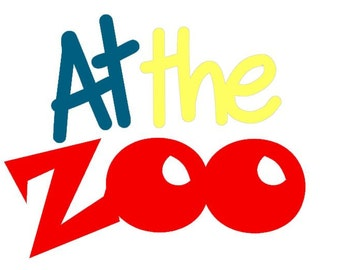 At The Zoo  Die Cut Do It Yourself Kit