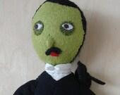 Zombie Poe plush doll