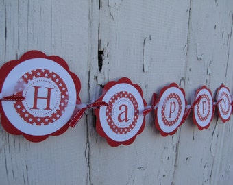 American Girl Birthday Decorations, Girl Birthday Decorations, American Girl Happy Birthday BANNER, You Choose The Colors