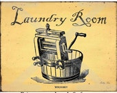 Laundry Room Download Wash Tub , Vintage , Labels , Tags , Flour Sack , Feedsack , Burlap , Iron on Transfer , Framed print , Tote Bags