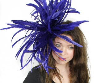 Royal Fascinator  Hat for Weddings, Occasions and Parties With Headband