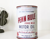 RESERVED Vintage Penn Rule Oil Can