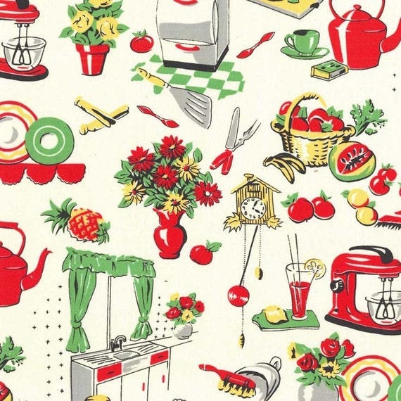 Kitchen Fabric: Unavailable Listing On Etsy