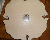 Wood (Over the Wine Bottle) 4 Wine Glass Holders-Ready to Paint-Made in USA MDF