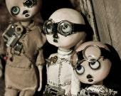 Professional Photograph steampunk 5x7 photo print art dolls
