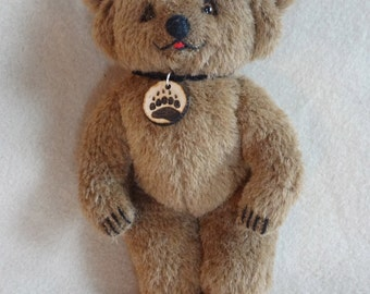 Luxembears Alpaca mohair bear
