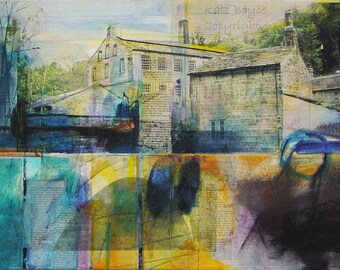 Yorkshire Mill Series /1 ( Limited Edition Archival Print - Size 3 )