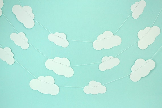 https://www.etsy.com/listing/123277202/white-clouds-paper-garland