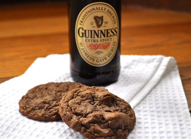 Guinness Chocolate Chunk Cookies