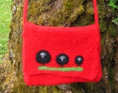 Baa Baa Black Sheep Felted Bag