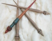 Original Russian spindle . Support spindle. Russian craft. Siberian spindle. Winter. Motya's spindle.