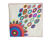 Custom Applique Quilt- Portion of Proceeds to Charity