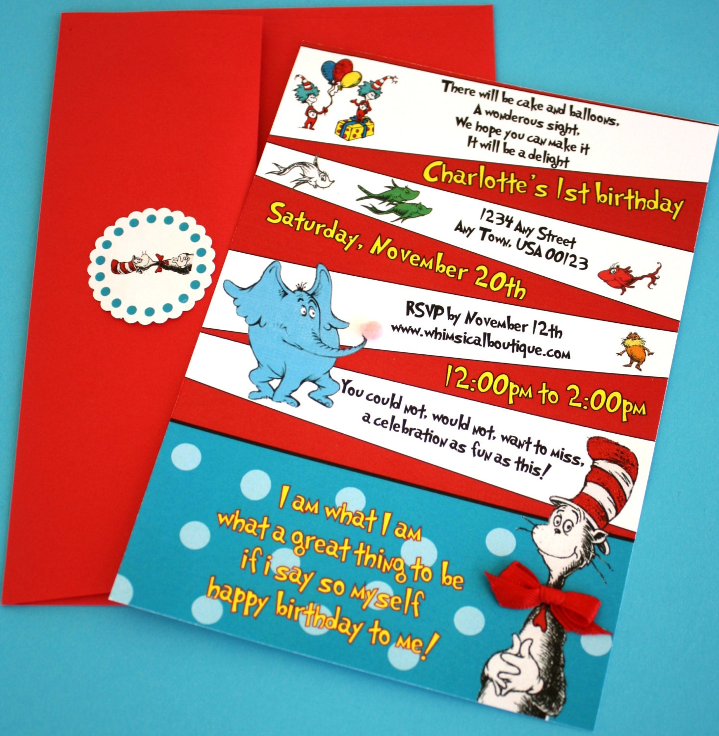 Dr Seuss Baby Shower Invitation Template is amazing invitation design