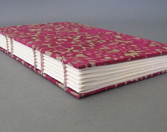 Tall Skinny Journal, Batik Mums in Fushia, Ready To Ship