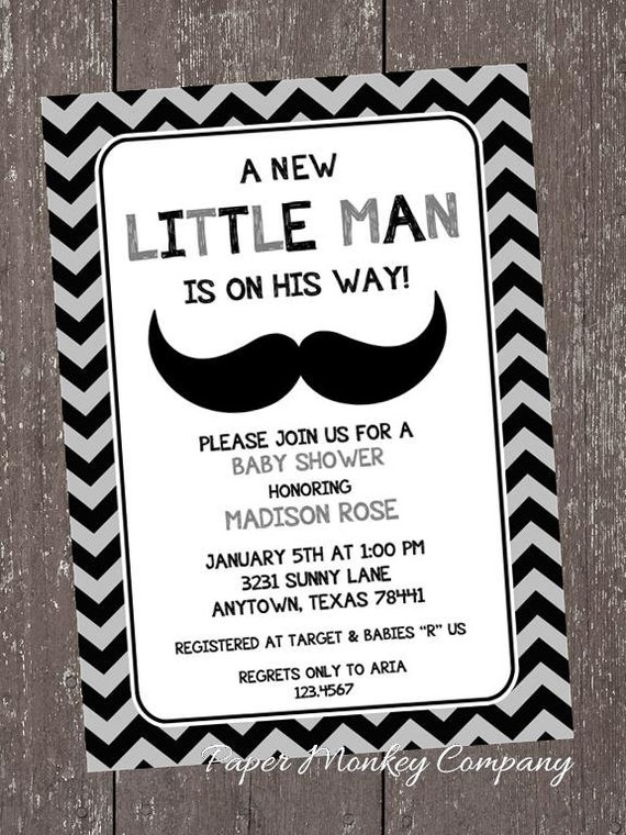 Mustache bash baby shower invitations by paper monkey company il570xn filmwisefo
