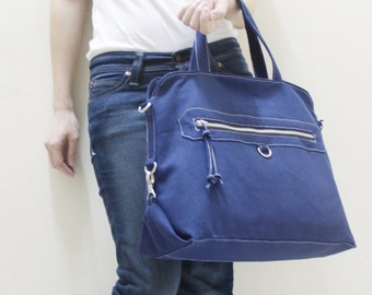 Back To School SALE - 20% OFF Wisey in Royal Blue / Messenger / Handheld / Document bag / Laptop / working Bag / Purse / Women / For her