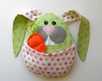 "Commercial Use ""Little Bunny Boo Boo"", Rice Bag, Tooth Pillow, Easter Plushie, Hot Pack, Cold Pack"