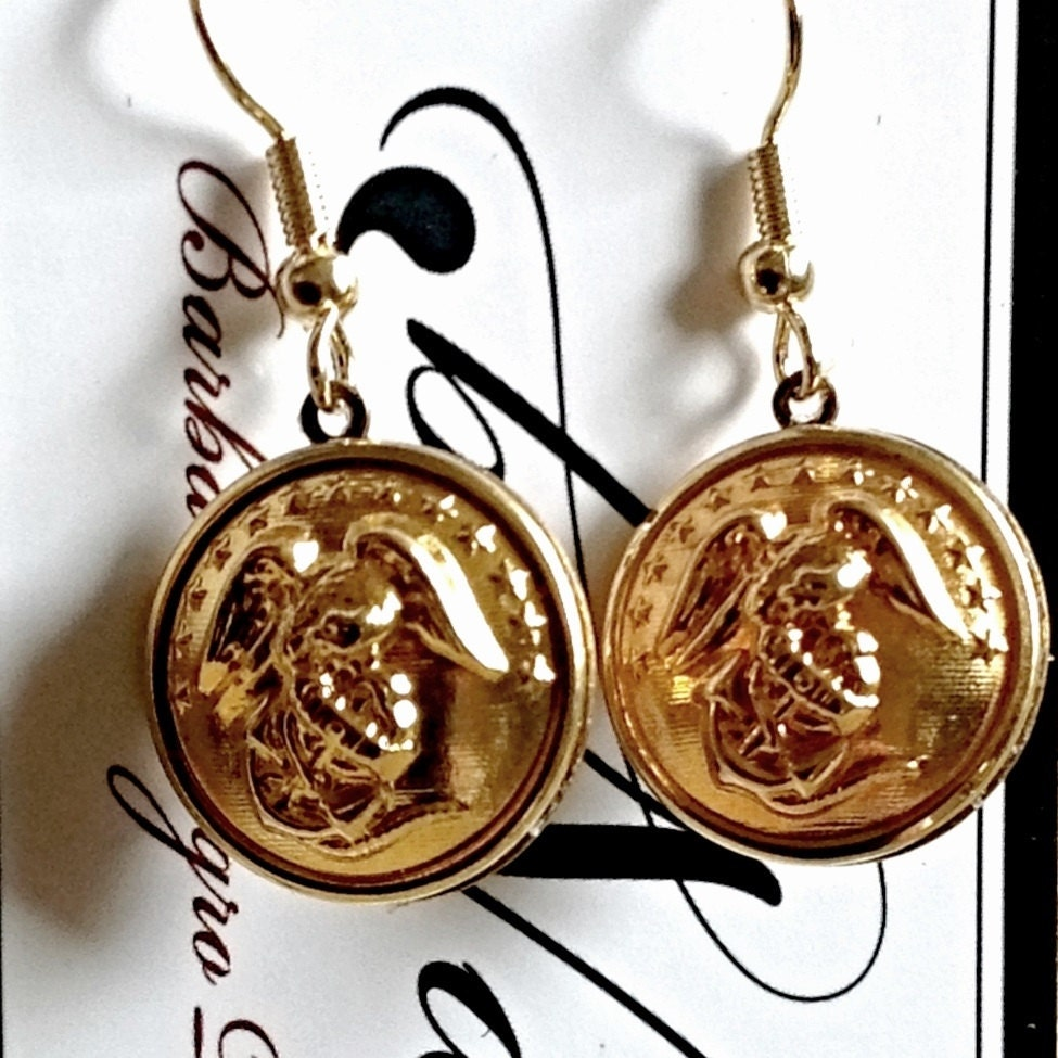 us marine corps sweetheart jewelry earrings made with. Black Bedroom Furniture Sets. Home Design Ideas