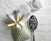 DIY pdf Embroidery Pattern Crewel Gift Bag and Sachet digital download