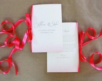 Wedding Program (printable)