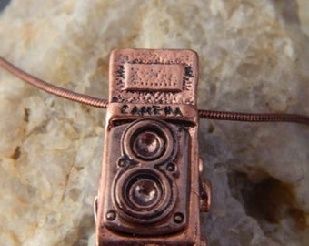 Old Time Camera Necklace