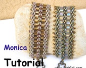 Tutorial Monica SuperDuo and Tila Beadwork Bracelet PDF