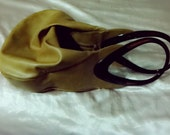 Rosenfeld  Reghi Leather Purse Vintage With Brown Lucite Handles