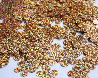 20 pcs flower sequins......metallic color