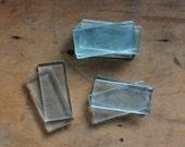 Rectangular glass slides