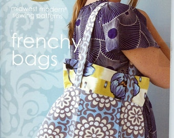 Sale!  Frenchy Bags pattern by Amy Butler