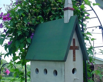 Country Church PLANS & Instructions-781