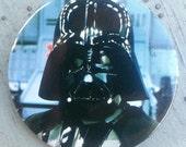 1983 Return of the Jedi DARTH VADER Pin back Button by Adam Joseph