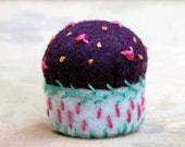 Pincushion -- Embroidered Miniature Pin Cushion