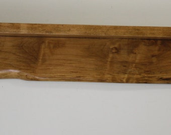 Spalted Maple Solid Wood Shelf