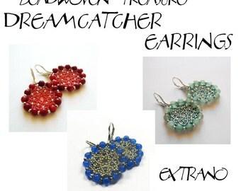 TUTORIAL-  earrings  - DREAMCATCHER - immediate download