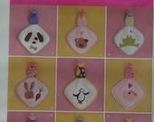 Simplicity 2670 Craft Sewing Pattern Infants' Babies' Binky Blankets in Varies Designs  UNCUT